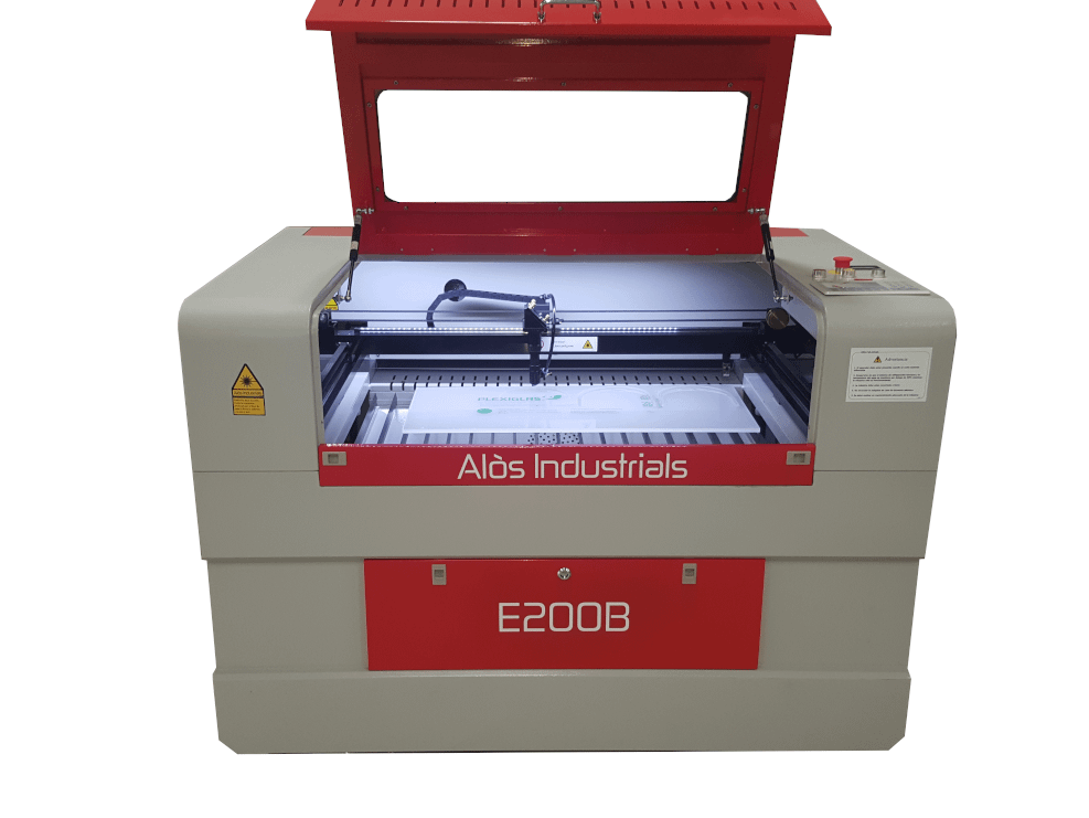 Nonmetals Co2 Laser Cutting and Engraving Lifting Table E200B