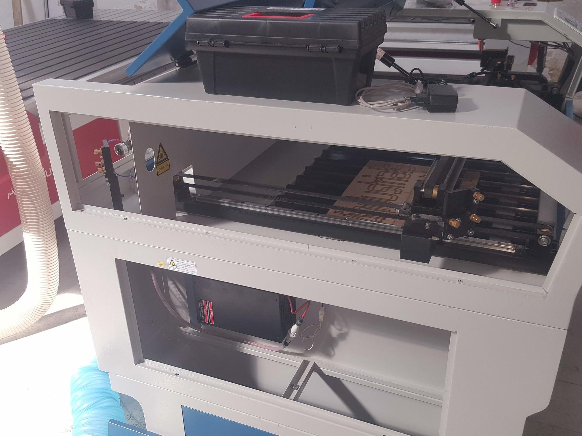 Corte y grabado láser Co2 no metales E200A